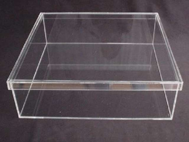 Awesome Clear Stackable Large Acrylic Storage Box