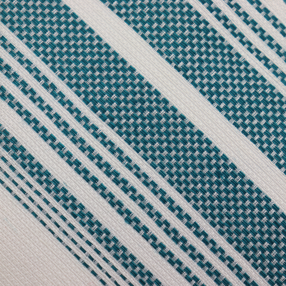Green White Stripe Formal-Brand New Men's Tie Silk Blend