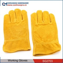 leather working gloves importer in italy