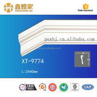 custom design picture frame PU Plain Panel Moulding