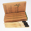 Eco-Friendly natural bamboo charcoal toothbrush with pack of 4