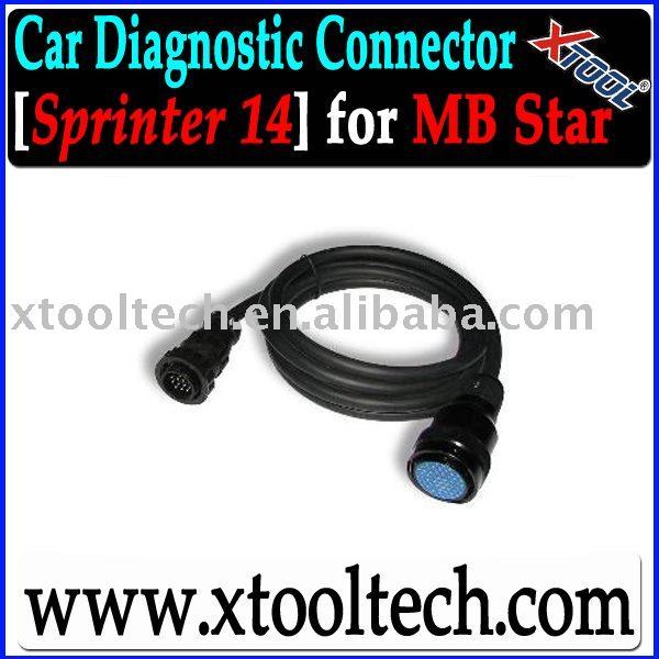 Sprinter Cable for MB C3 star Mercedes Benz Diagnostic Tool