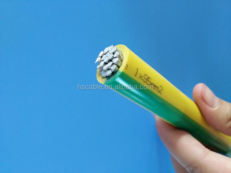 Yellow/green 10mm2 16mm2 25mm2 35mm2 50mm2 70mm2 95mm2 Aluminum ...