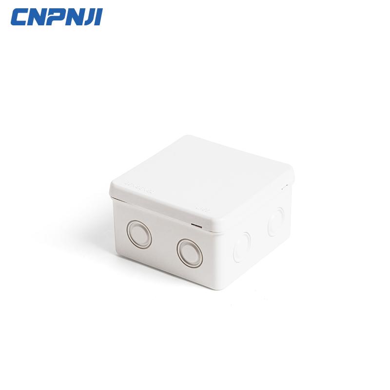 CE All'aperto IP65 ip66 Impermeabile Elettrico ABS PVC scatola di giunzione di Plastica per telecamere a circuito chiuso