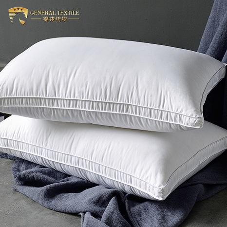 Certificated White goose feather pillow duck down pillow