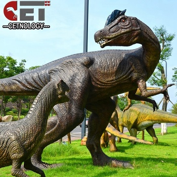 CET-A-719 artificial animatronic dinosaur moving life size dinosaur models for 4d cinema decoration