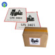 New Adhesive 12*11cm Lithium Battery Shipping Warning Printing Paper Sticker Label for Box