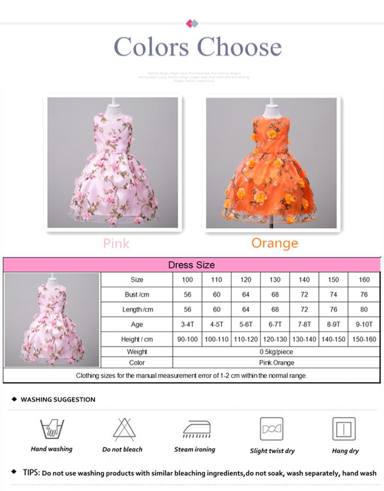 Alibaba Verkauf Kind Kittel Designs Applique Blume Neueste Formale ...