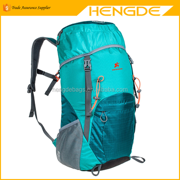 e3fa964c12 G4Free Large 40L lightweight water resistant travel backpack foldable    packable hiking daypack