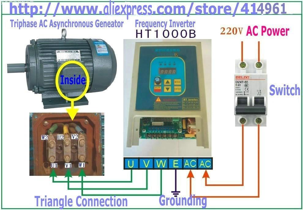 hot sale 7a hengtai ht1000b used frequency converter 220v. Black Bedroom Furniture Sets. Home Design Ideas