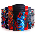 Hot Sale African Head Tie Custom Face Mask Neck Tube Bandana