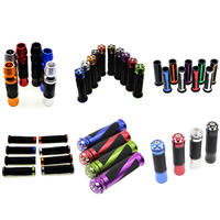 "Price cheap highly quality fit 7/8"" 22MM size hand grips 120mm-250mm length handlebar motorcycle parts handlebar grips"