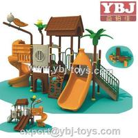 environmental fibre grass outdoor playground with combos /jungle amusement park for sale
