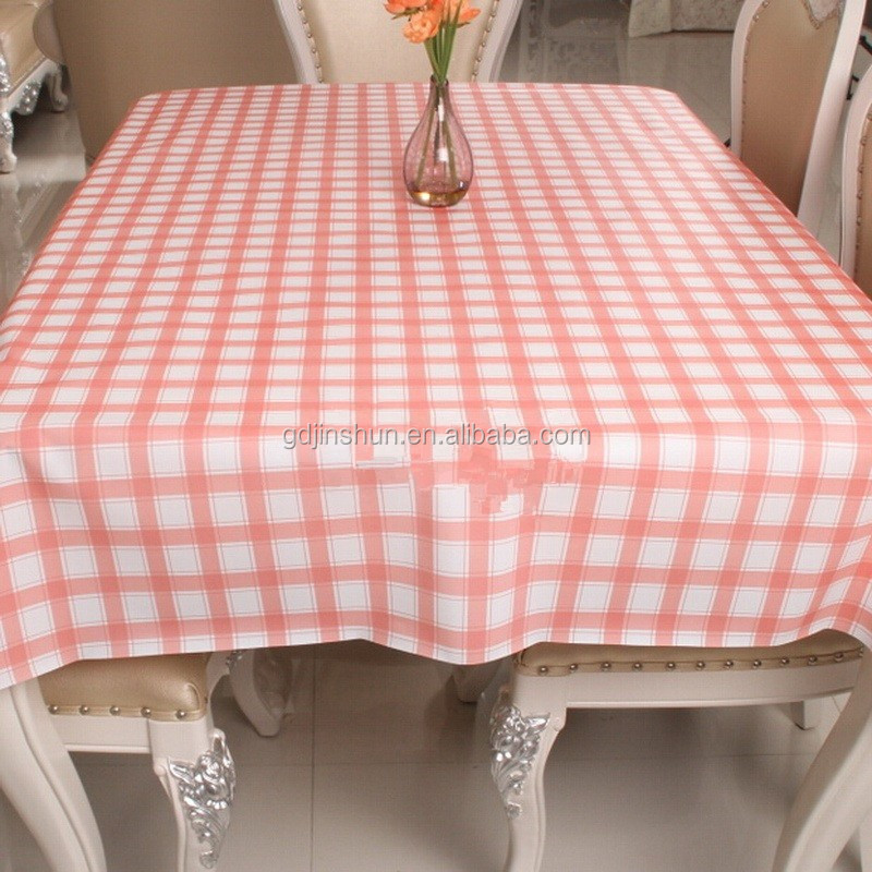 Merry christmas disposable convenient plastic table cloth durable printed pe heat resistant - Heat resistant table cloth ...