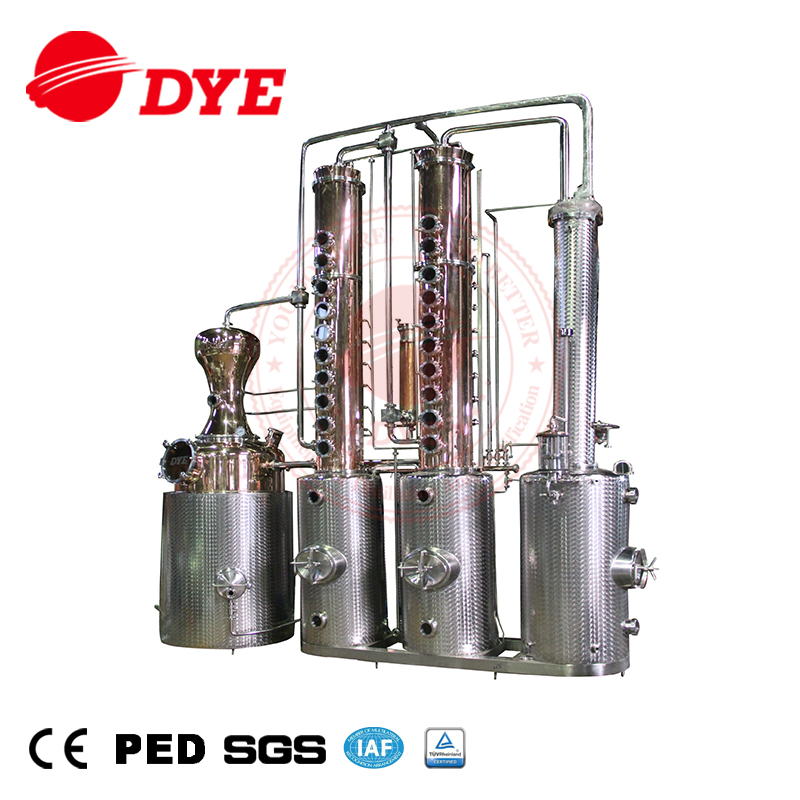 Customized Commercial Vodka Moonshine Still Copper Distillery For Sale -  Buy Copper Distillery,Vodka Distillery,Moonshine Still Product on  Alibaba com