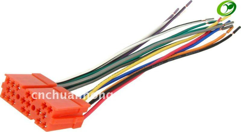 20 Pin Auto wiring harness 20 pin main wire harness diagram wiring diagrams for diy car repairs dual xdvd8183 wiring harness at webbmarketing.co
