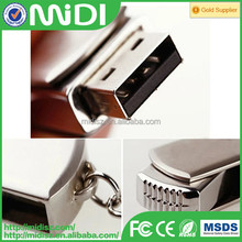 128GB Metal USB Flash Memory Drive Stick Pen Thumb Key Cute U Disk Silver