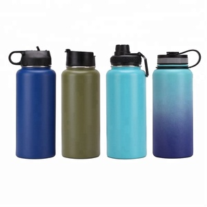 The Coldest Water Bottle Wide Mouth Vacuum Insulated Stainless Steel Hydro Travel Mug Hrs/Hot 12 Hrs Double Walled Flask