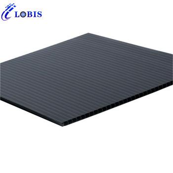 Waterproof 4x8 Corrugated 1 4 Inch Plastic Sheet