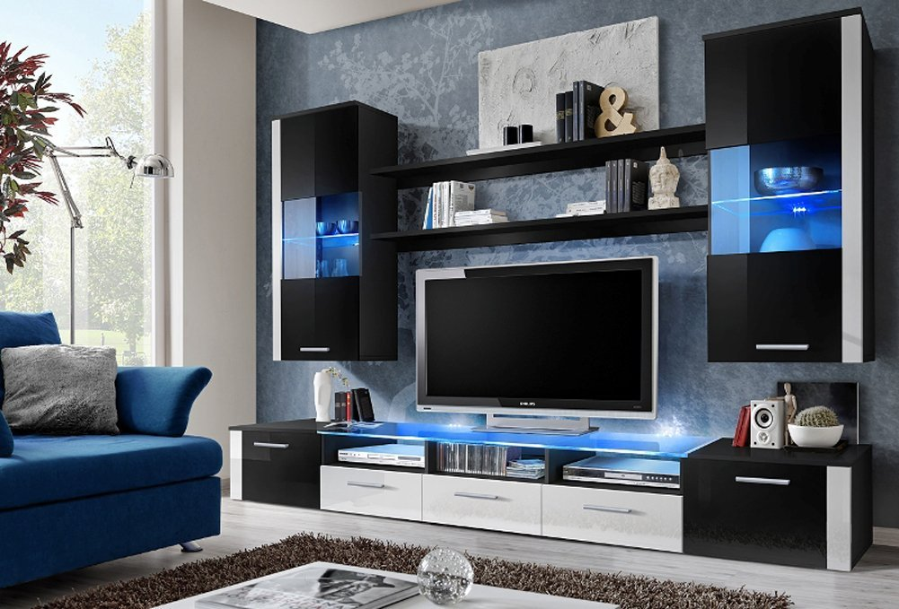 Get Quotations Fresh Modern Wall Unit Entertainment Centre Ious And Elegant Furniture Tv Cabinets