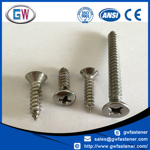 "Stainless Steel A2 #8 x 1/2"" Self Tapping Screws"