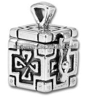 Prayer Box 3D Charm alloy jewelry
