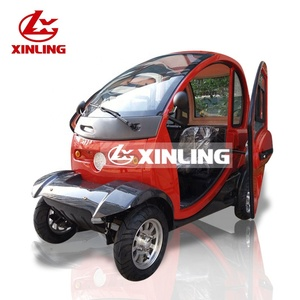2019 EEC certification fashionable cheap 3 seat 4 wheel electric cars vehicle for sale