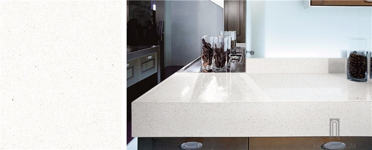 White Star Quartz Stone Ice White Quartz Countertop White Quartz Table Top