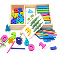 Educational Wooden Montessori Materials Math Toy Preschool Toys of Kids For Children WD07SS