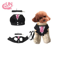 New Listing Fashion Pet chest strap with Holiday Dress