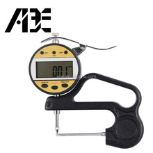 0-10mm/0-0.4inch depth 60mm digital tube thickness gauge pipe thickness meter measuring instrument
