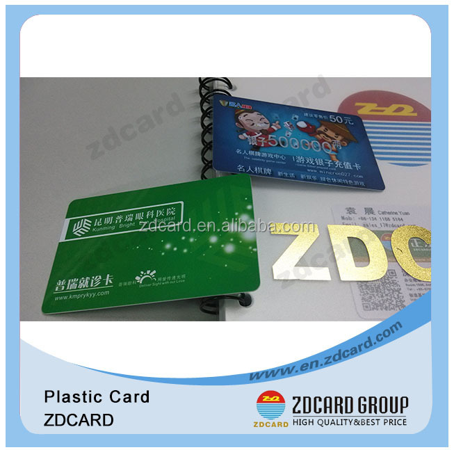 security scratch card quality plastic card for label cards