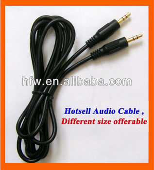 hot sell audio cable with different size view audio cable hfw product details from shenzhen. Black Bedroom Furniture Sets. Home Design Ideas