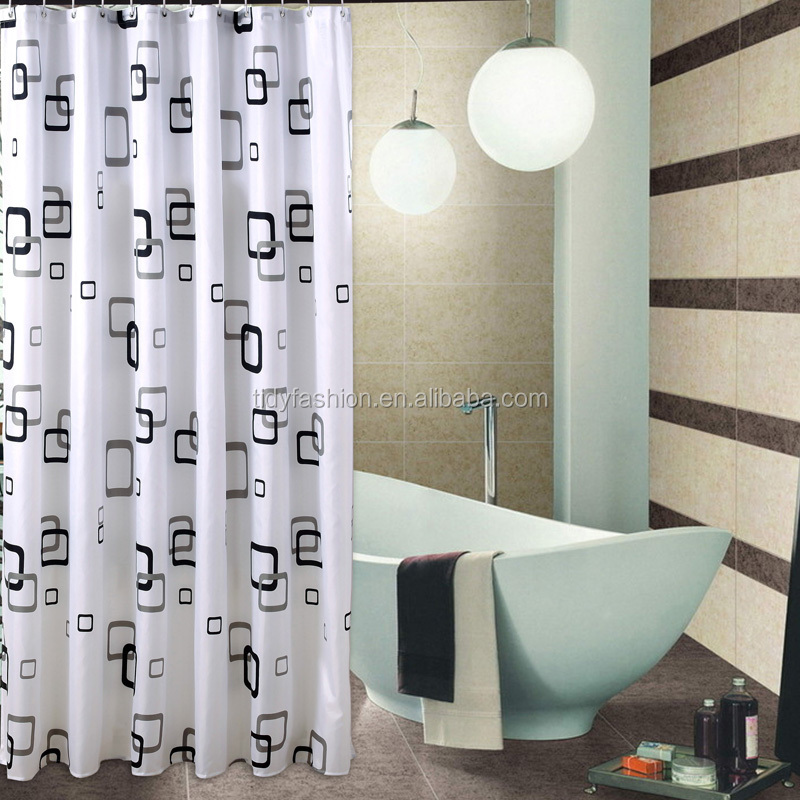black and white shower curtain set. Home Goods Shower Curtains  Suppliers and Manufacturers at Alibaba com