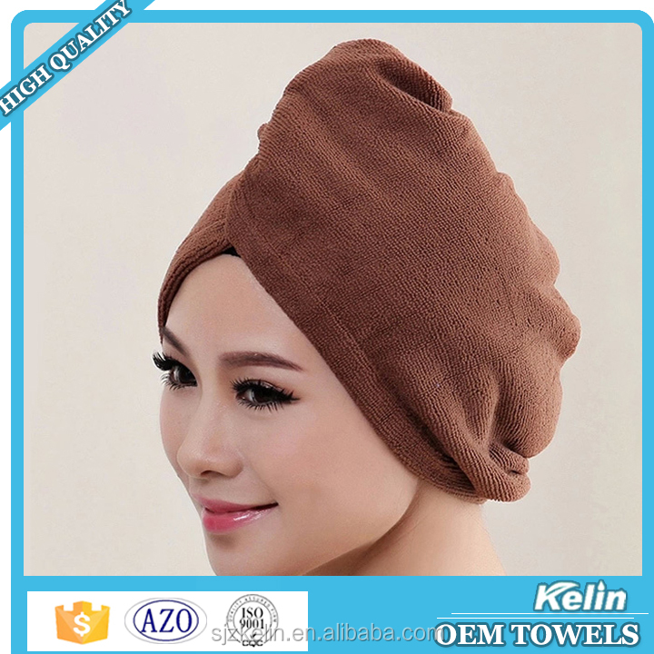 Terry cloth hair towel for hair salon