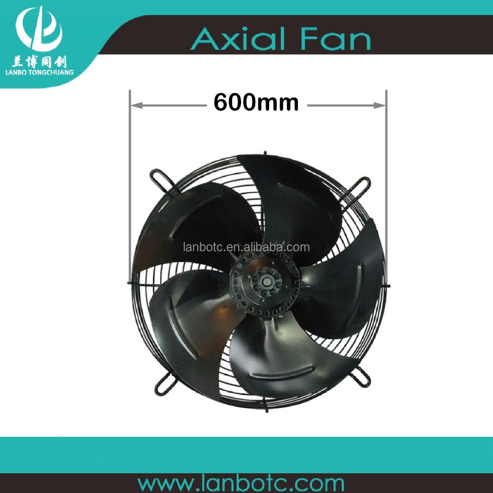 600mm high-speed industrial axial flow fan exhaust fan