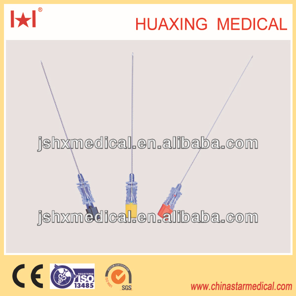 pencile point disposable spinal needle 22G manufacturer