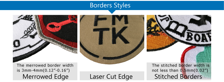 good quality personalized patches and embroidery