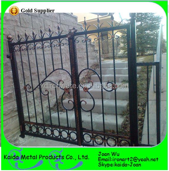 Cheap Home Entrance Iron Grill Gate Design