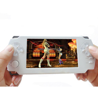 4.3 inch vedio game Consoles 8G built in memory MP5 ultra-thin Game Console music player handheld game players