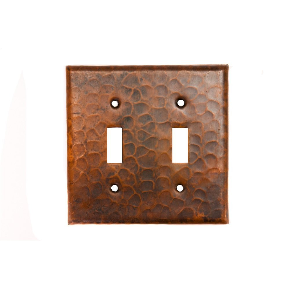 Get Quotations Premier Copper Products St2 Switch Plate Double Toggle Cover Oil Rubbed Bronze