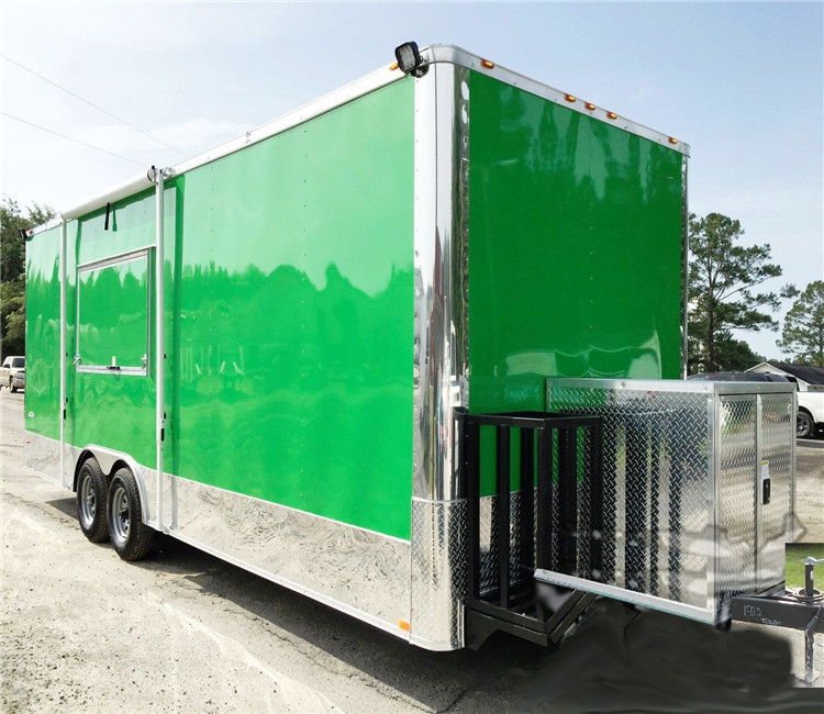 Cheaper Price China Professional food Machinery food trailers for sale texas