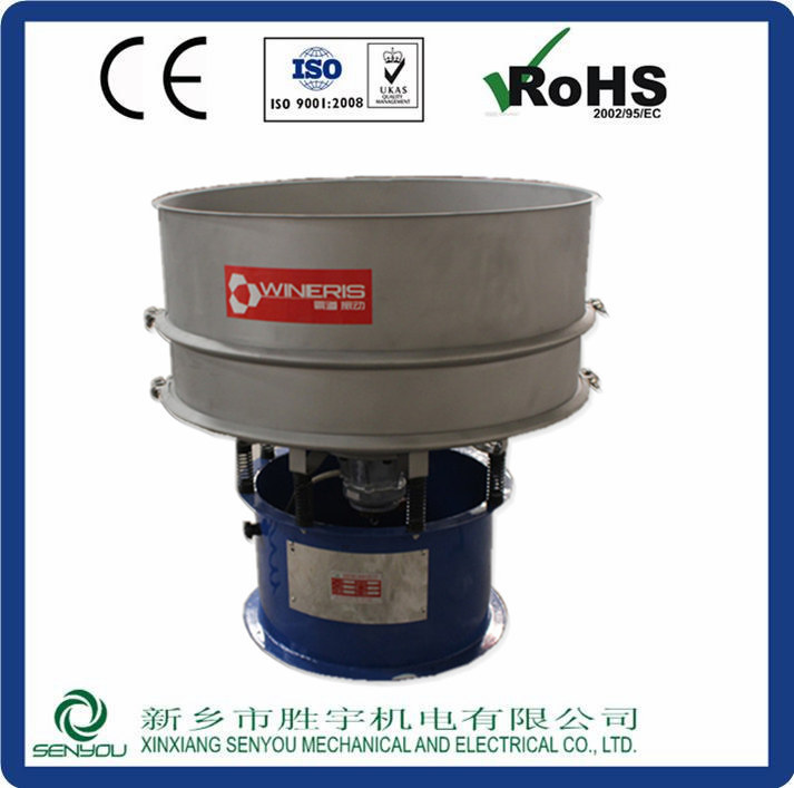 Senyou company SY series vibration sand filtering equipment in CHINA