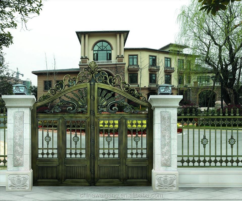Perfect Iron Gate Design For Home Iron Gate Design For Home Suppliers And  At Alibabacom With Front Gate Designs For Homes