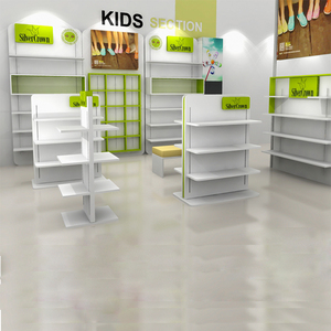 Retail Kids Shoes Display Cabinets Shoe Display Rack For Shoes Store