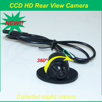 CCD 360 rear view camera for car Universal Fit for ALL CARS rear/side/front view camera