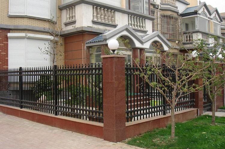 Cheap White Galvanized Wrought Iron Fence