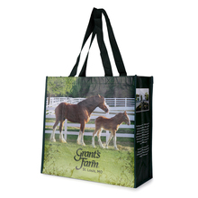 100% new PP customized printed non woven bags for groceries and shopping