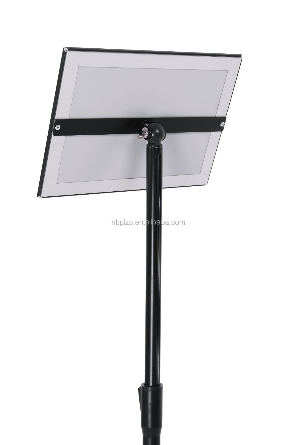 metal poster display menu display holder ipad floor stand - Ipad Floor Stand