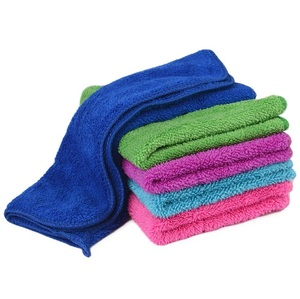 Wholesale microfiber cheap kitchen towels with loop